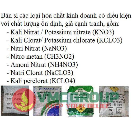 KCLO3 Kali clorat goi 1kg
