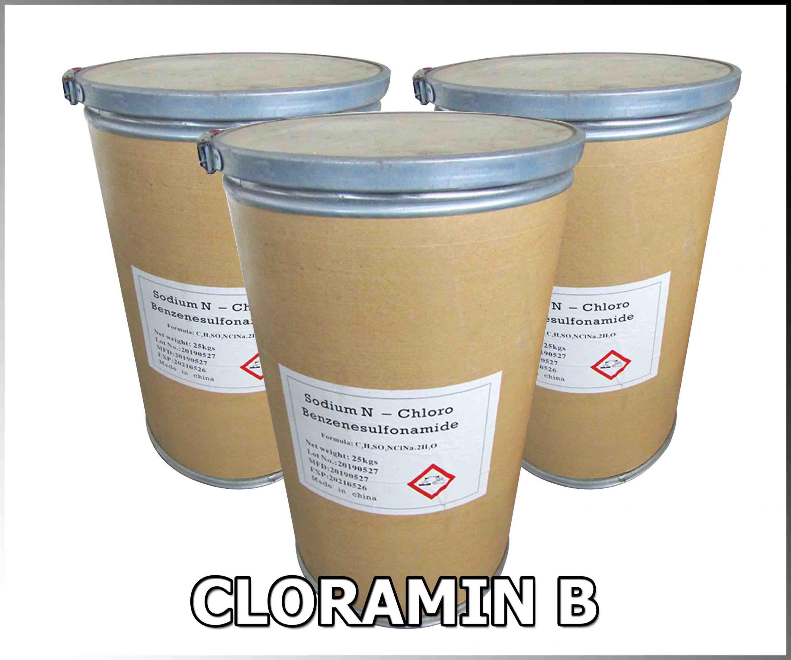 CHLORAMIN B (TRUNG QUỐC) HCNĐ
